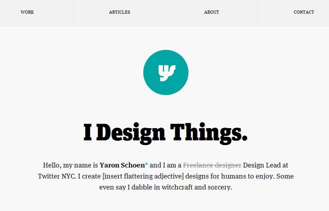 desktop view of Yaron Schoen
