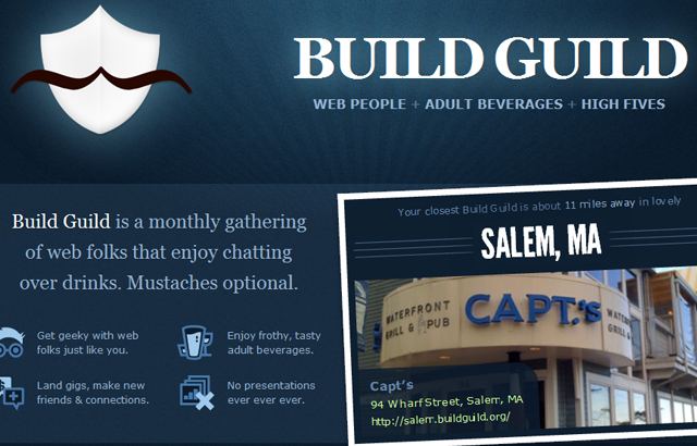 desktop view of Build Guild
