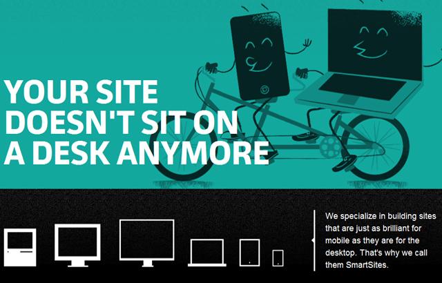 desktop view of Sparkbox