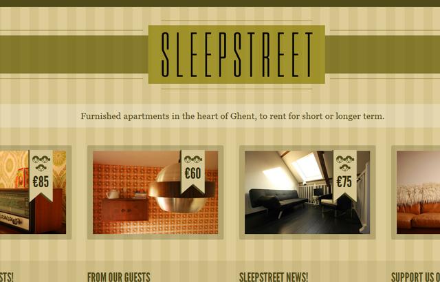 desktop view of Sleepstreet