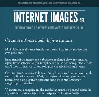 responsive mobile view of Interim