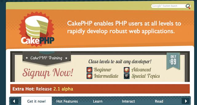 CakePHP Coding backend framework