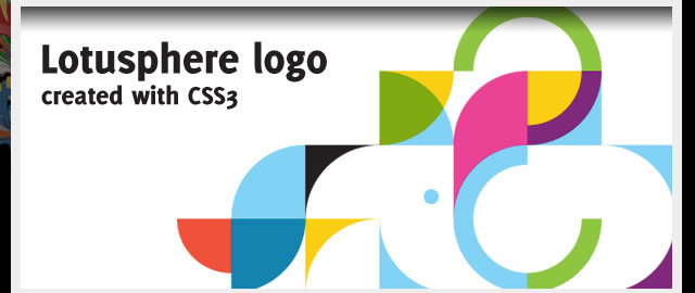 Recreating the IBM Lotusphere 2012 logo in CSS3