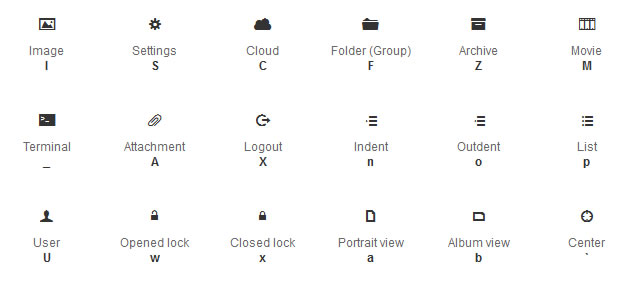 20 Fontface Icon Sets Rss Blog
