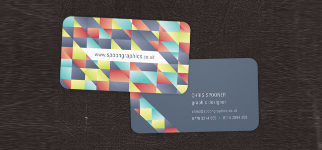 Design A Print Ready Cut Business Card