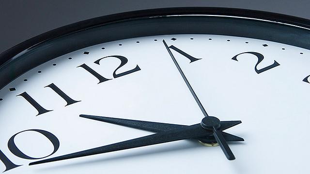larger clock photography