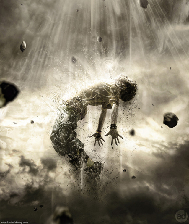 Powerful Human Disintegration Effect tutorial in Photoshop