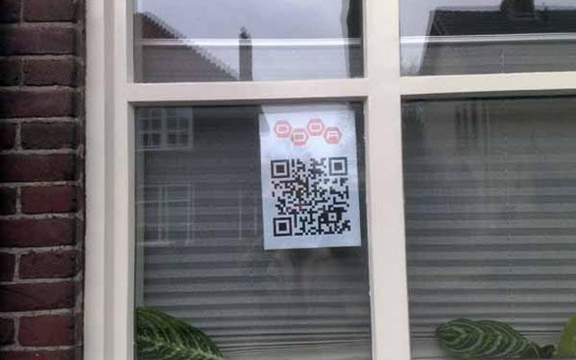QR code window