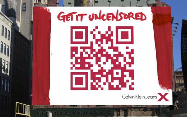 QR Calvin Klein code