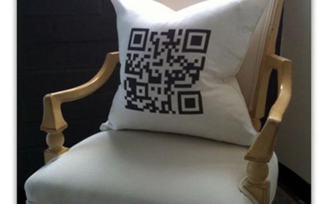 QR code pillow