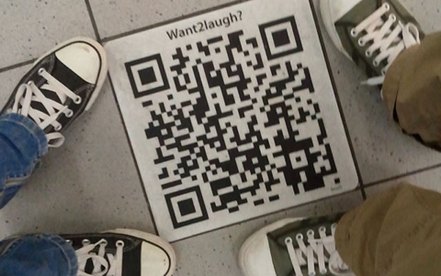 QR code in Amsterdam