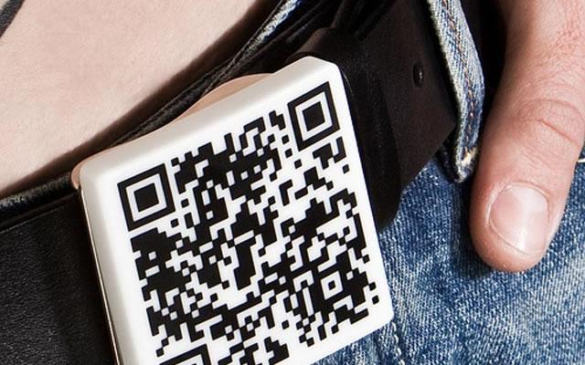 QR code belt