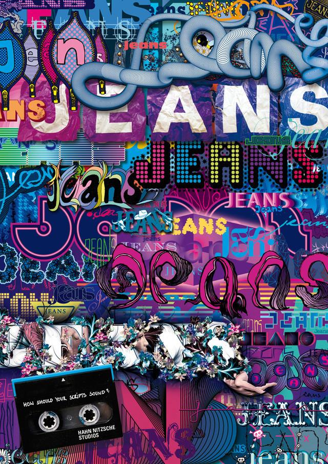 Publicidad Impresa - Hahn Nitzsche estudios de grabación: Jeans