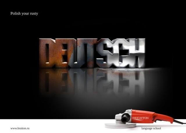 Publicidad Impresa - Brighton Escuela de idiomas: Deutsch