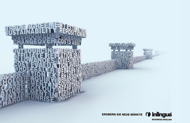 Publicidad Impresa - Inlingua - Inglés de Negocios