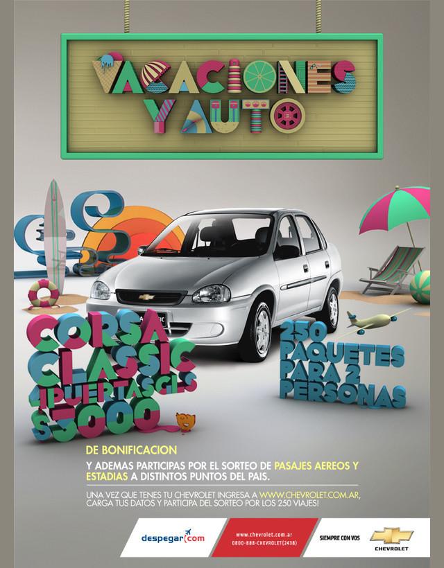 Publicidad Impresa - Verano Chevrolet