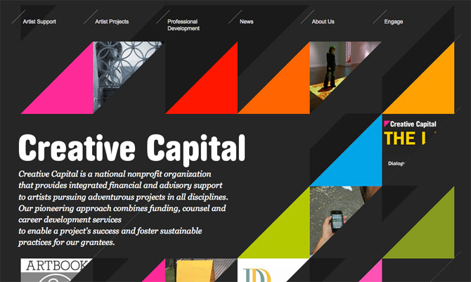 Highly Unusual Web Layouts For Design Inspiration