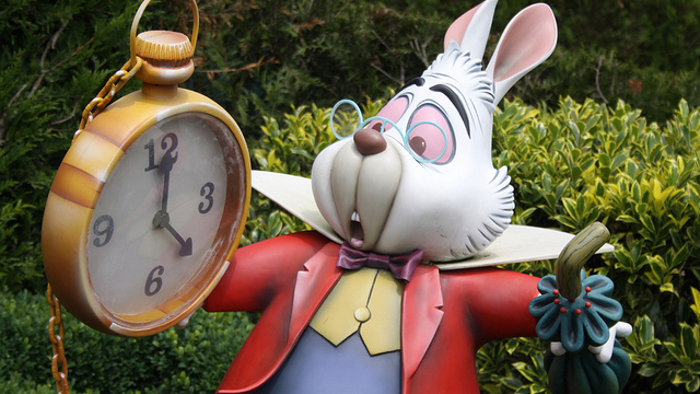 Wonderland Rabbit and Pocket Watch