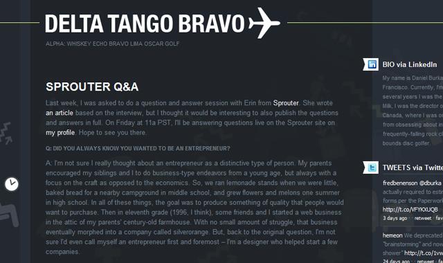 Delta Tango Bravo
