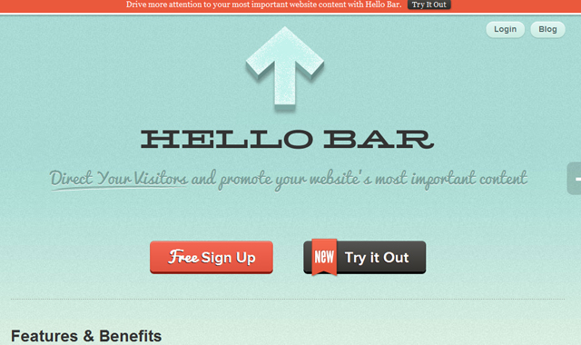 hello bar web toolbar