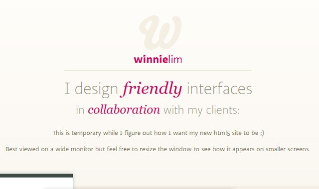 Winnie Lim design portfolio