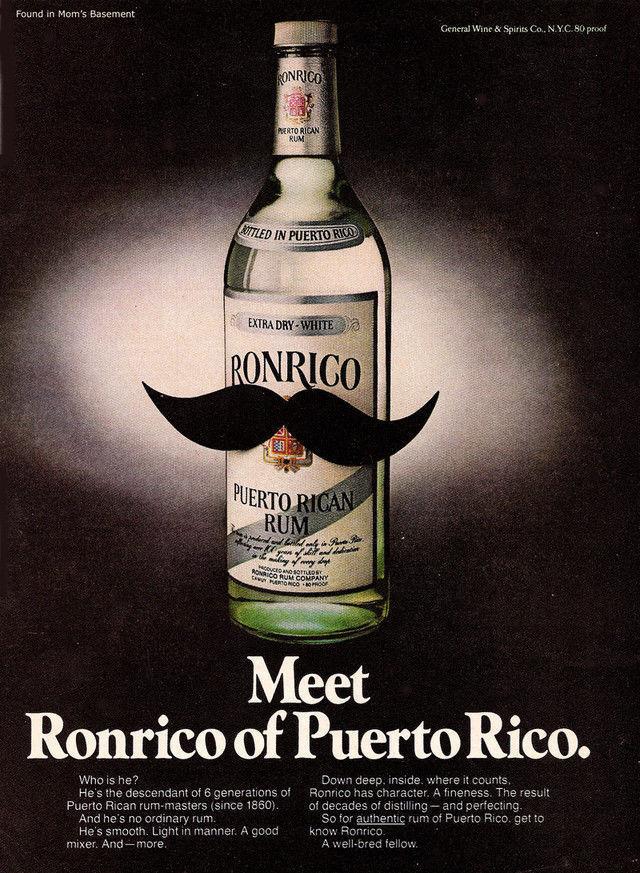 Ronrico rum ad