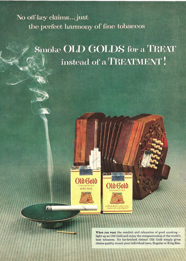 Old Gold Cigarettes