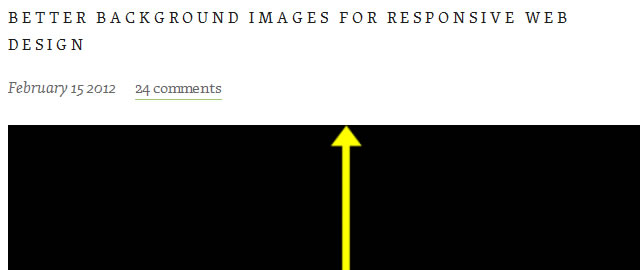 Better Background Images for Responsive Web Design