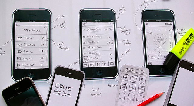 iPhone app Tips for Wireframing - featured image