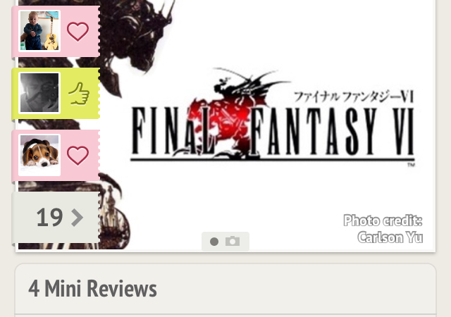 Oink app Final Fantasy VI