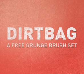 Dirtbag subtle Brushes for Photoshop