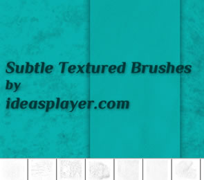 Subtle Textured Brushes for Photoshop