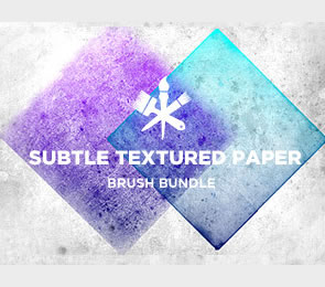 subtle Brushes for Photoshop Paper Textures