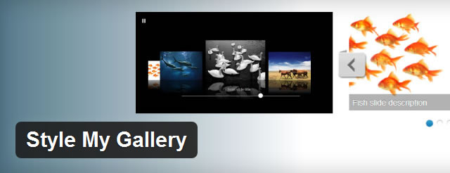 Style My Gallery wordpress responsive plugin