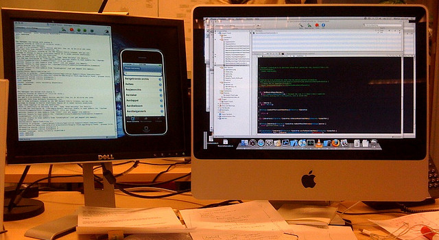 testing Xcode app for iPhone