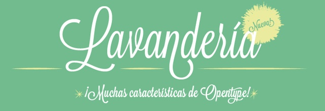 Lavanderia is a free web fonts