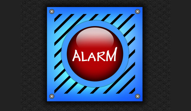 Creating an Alarm Photoshop icon tutorial