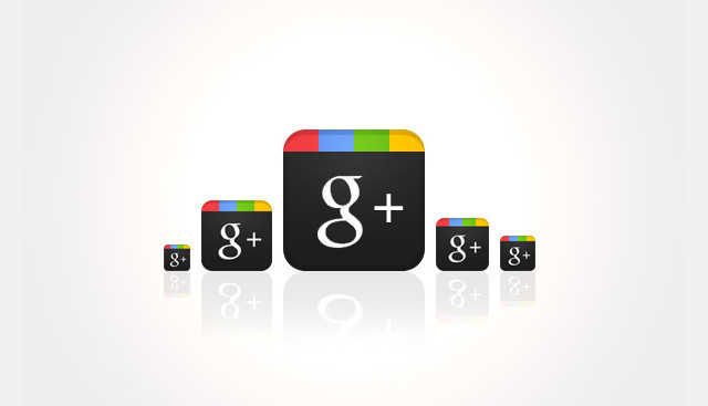 Design a Sleek Google+ Icon in photoshop