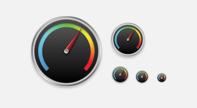 Detailed Gauge Icon