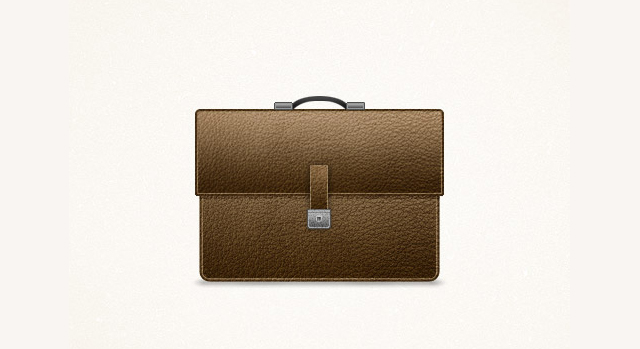 Detailed Briefcase Icon