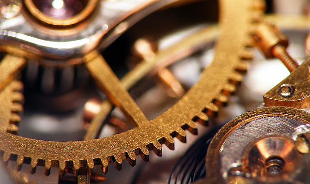 internal watch gears