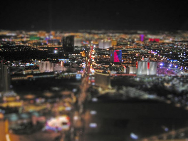Vegas Tilt Shift