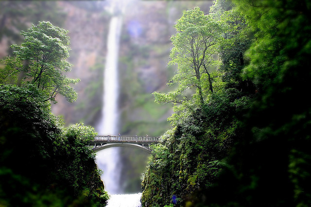 Mini multnomah falls