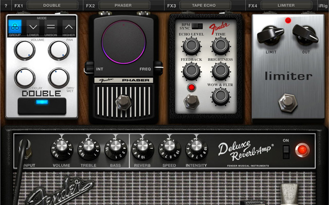 AmpliTube 2 for iPad