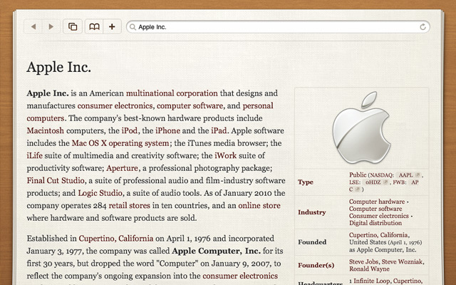 Articles for iPad