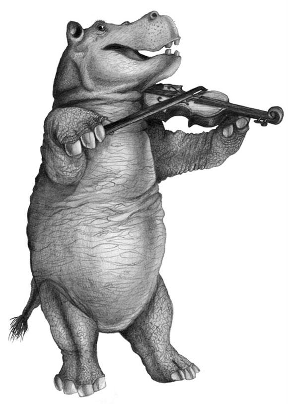 Hippo-with-Violin-Delacorte