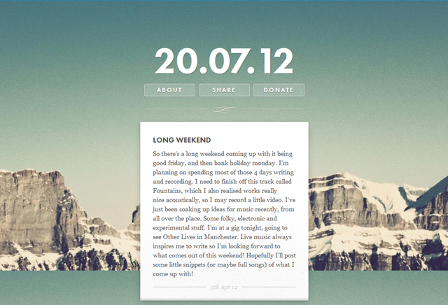 20 Inspiring Examples of Creative, Personal Blog Web Designs