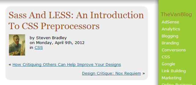 Sass And LESS: An Introduction To CSS Preprocessors