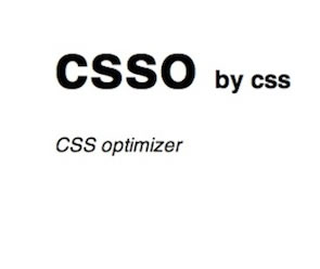 CSSO (CSS Optimizer