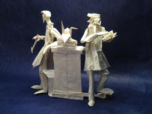 Mens et Manus II Origami